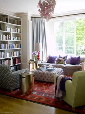 eclectic living room.frolic
