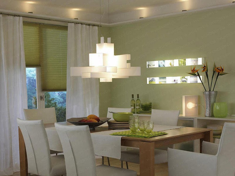 Beautiful dining room pendants a change of space for Dining room chandeliers contemporary