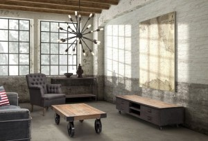 Amazing-Industrial-Living-Room