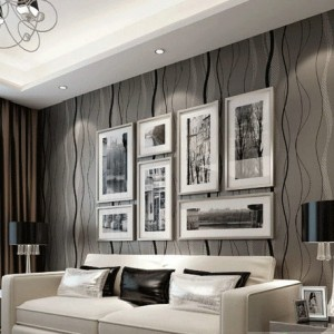 Wavy-Grey-And-Black-striped-wallcovering-Rolo-TV-Sofa-Background-wall-paper-Roll-papel-de-parede