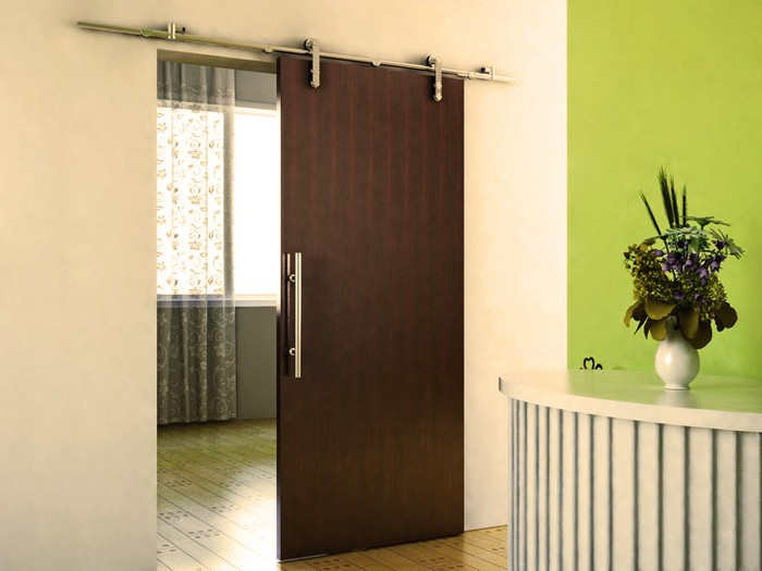 Track Barn Doors With A Modern Look A Change Of Space