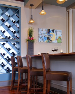how-to-build-a-wine-rack-Kitchen-Contemporary-with-artwork-breakfast-bar-built