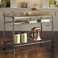 ... A Rolling/moveable Kitchen Island May Be The Solution. Stainless Is A  Perfect Choice For A Material As It Goes With Most Kitchens, And You Donu0027t  Have To ...